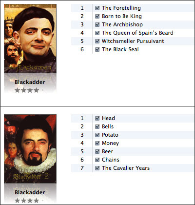 Blackadder Series