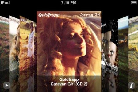 iPod Touch Classic Screen Mockup