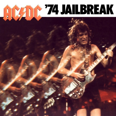 AC/DC • '74 Jailbreak (Square Version) (Click to enlarge)