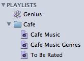 Cafe Playlist Folder
