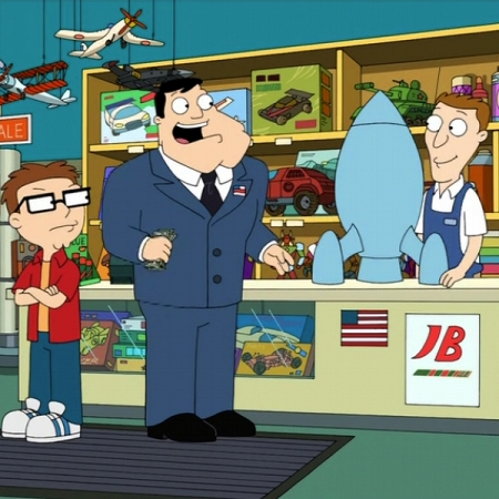 """American Dad"", Season 3, Episode 13, ""Red October Sky"""